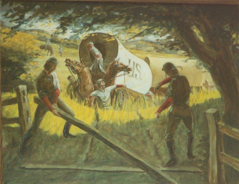 An Impromptu Speech Oil Painting