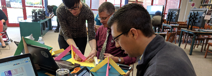 Headline image for HMS Teachers Create STEAM Projects