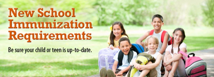 Updates to School Immunization Requirements